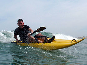 Open Album: Surf Kayaking at Sandbridge Beach